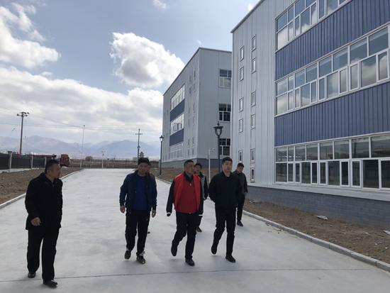 海原闽宁纺织工业园项目